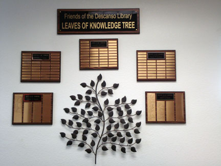 Picture of Tree of Knowledge wall