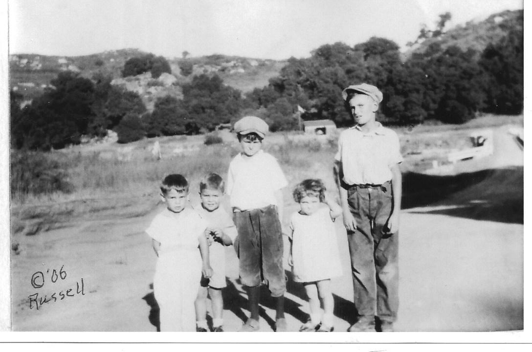 Kids who lived around Hulburd Grove, circa 1928